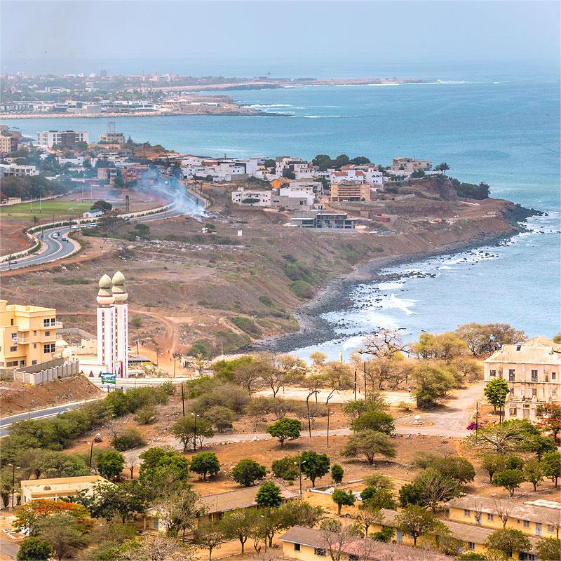 Перевозки грузов в Сенегал
