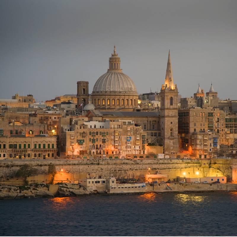 Доставка грузов на Мальту