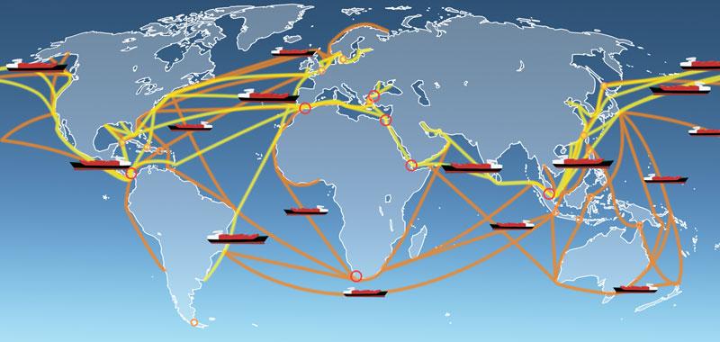 Международное экспедирование грузов