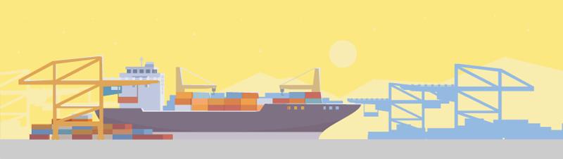 Доставка грузов из Пакистана морским путем