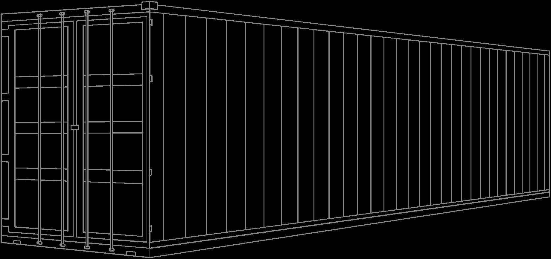 Контейнер 40 и 45 футов (40' / 45' HC DRY CONTAINER)