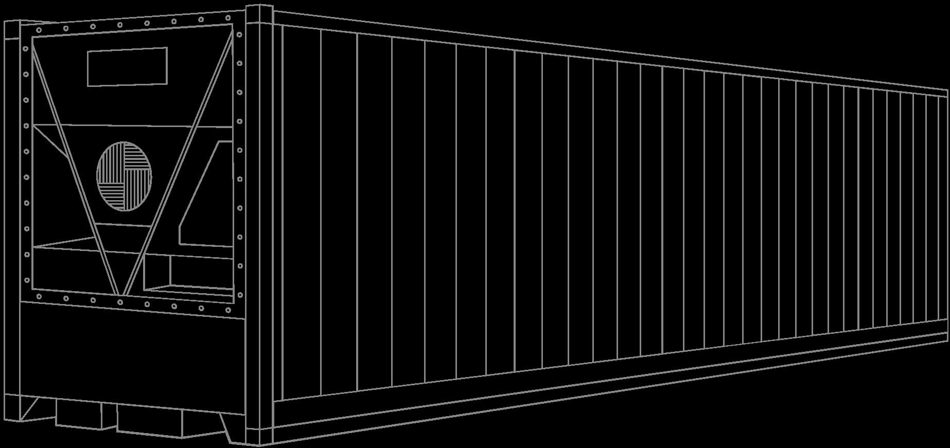 Контейнер рефрижераторный (высокий) 40 футов (40' HC REEFER CONTAINER)