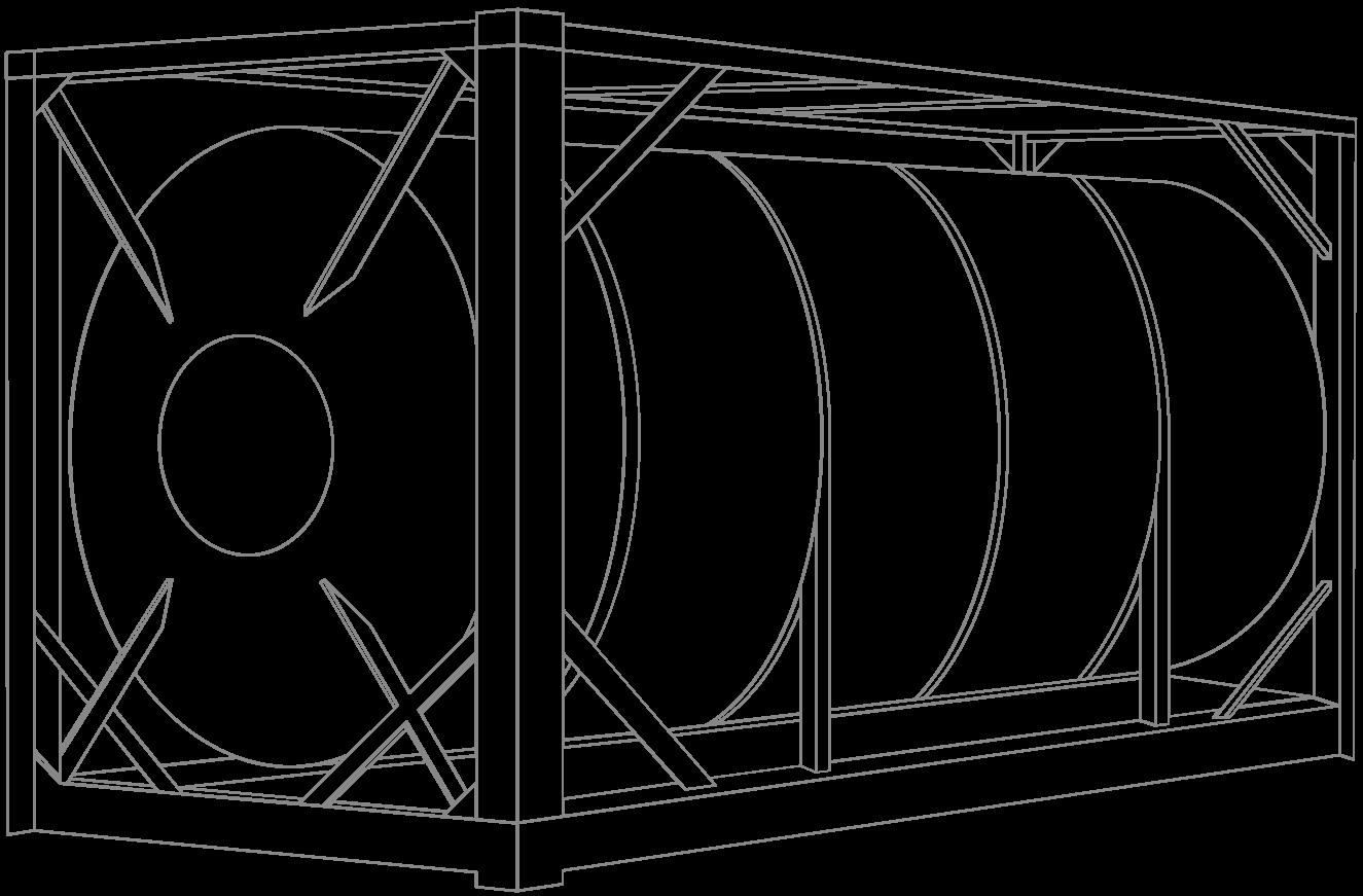 Танк-контейнер 20 футов (20' TANK CONTAINER)